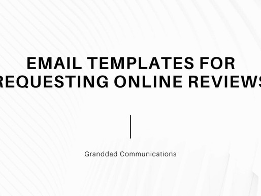 Email Templates for Requesting Online Reviews