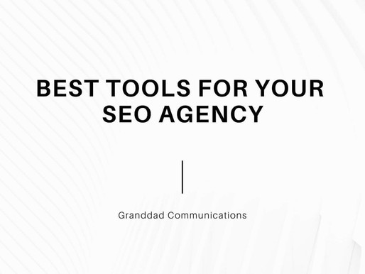 Best Tools for your SEO Agency