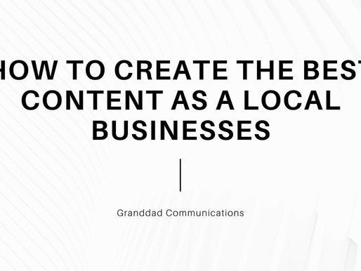 How To Create The Best Content For Local Businesses