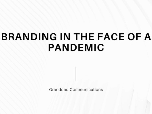 Branding in the Face of Pandemic