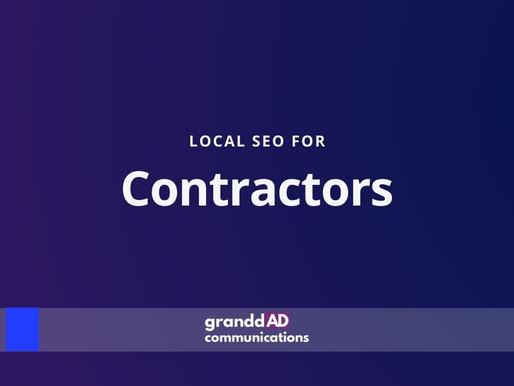 Local SEO For Contractors | Granddad Communications