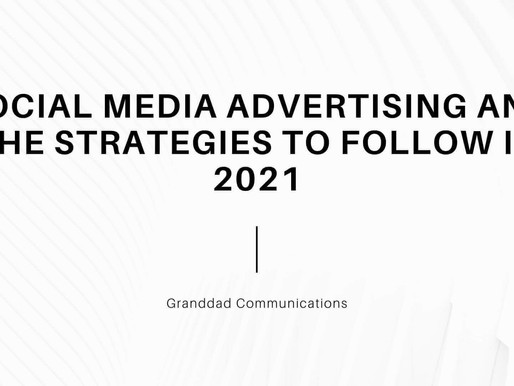 Social media advertising and Strategies to follow in 2021