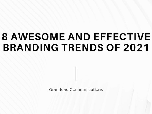 8 Awesome and effective Branding Trends of 2021