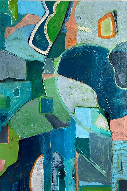 """The Understory   60"""" x 40"""""""