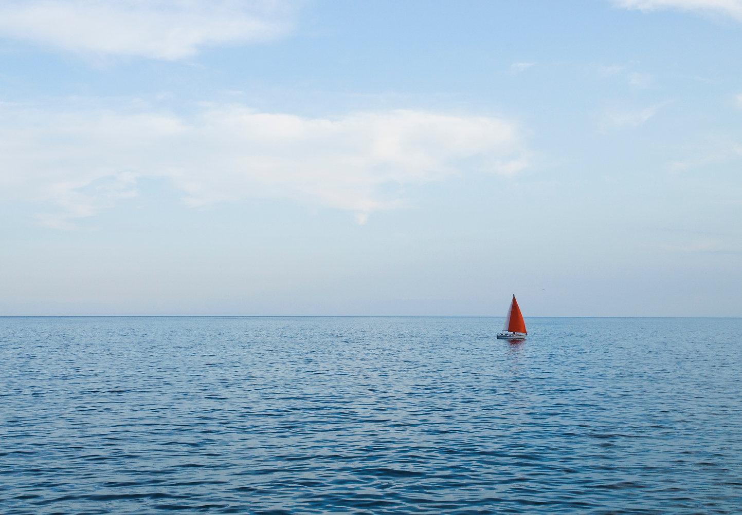 Nothing but ocean