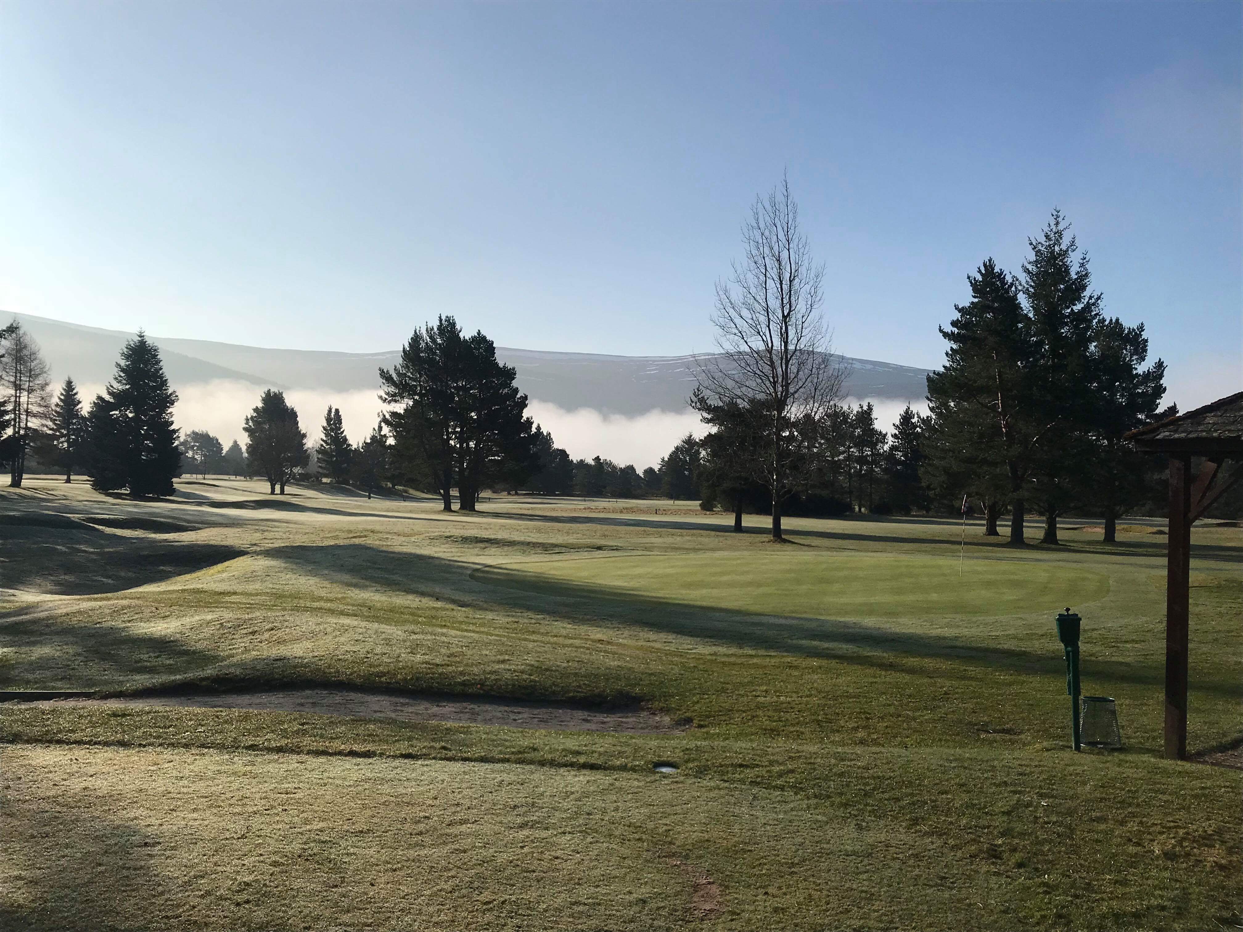 Ballater Golf Course -  Early Spring