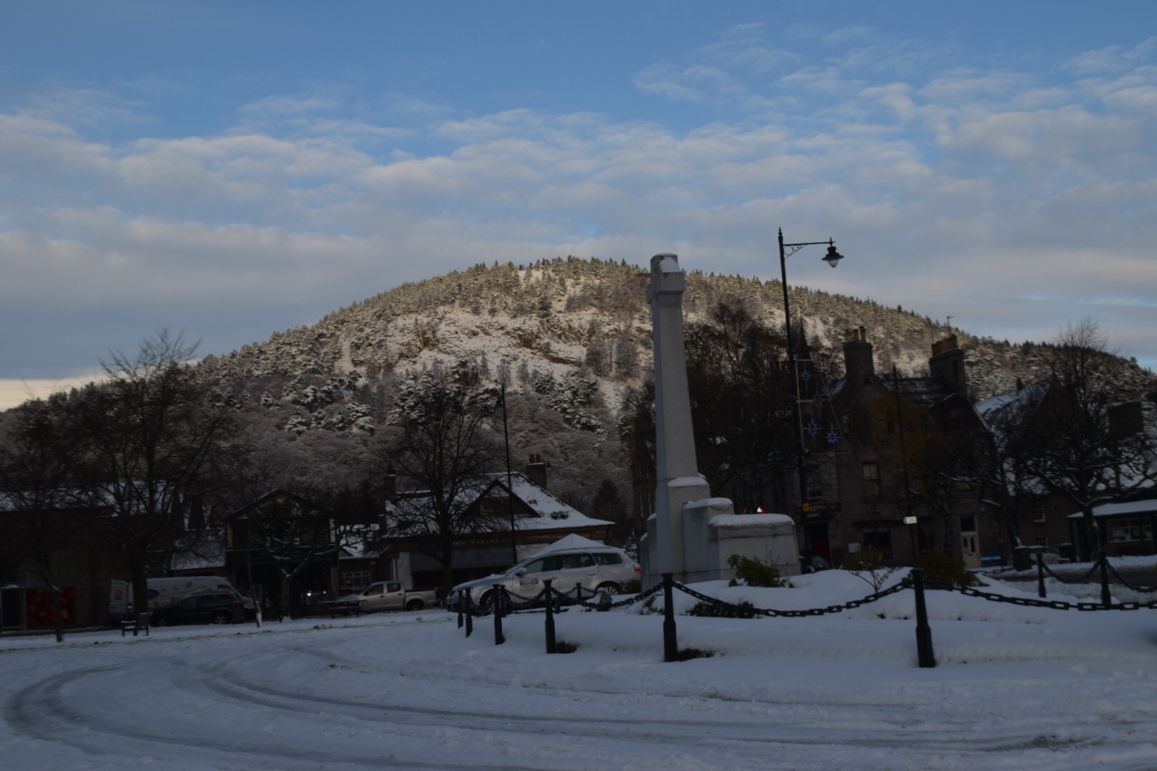 Ballater in Winter