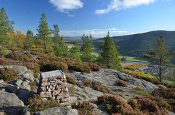 Top of Craigendarroch Hill