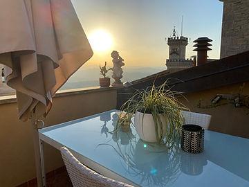 terrazza privata camera mansarda