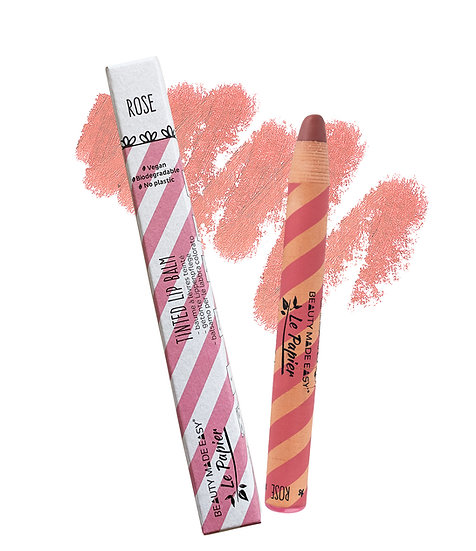 Hydrating Tinted Lip Balm - ROSE