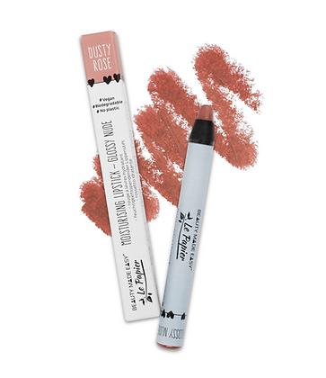 Moisturising Lipstick - Glossy Nude - DUSTY ROSE