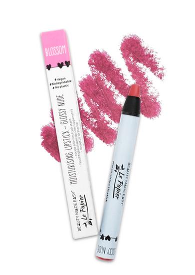 Moisturising Lipstick - Glossy Nude - BLOSSOM