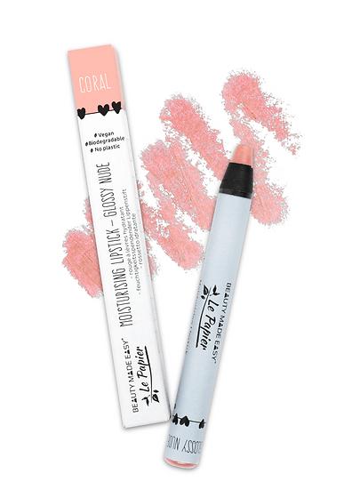 Moisturising Lipstick - Glossy Nude - CORAL