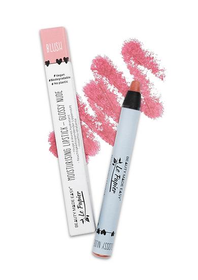 Moisturising Lipstick - Glossy Nude - BLUSH