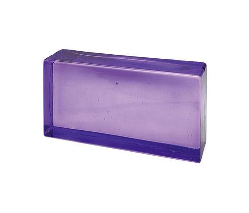 Briqueen verre violette