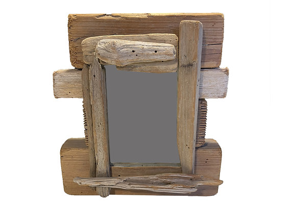 Miroir en bois Floté