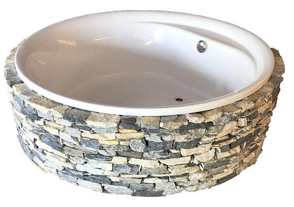 Baignoire ronde en acryle