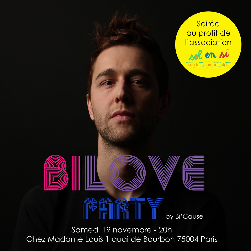 Christophe Madrolle pour la Bilove Party en 2016.