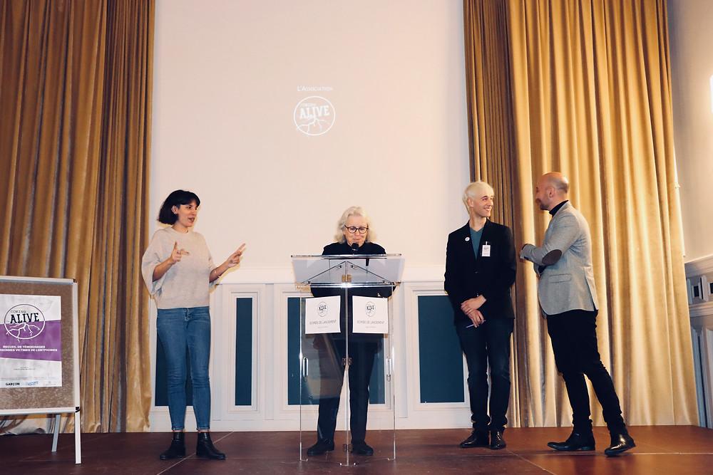 Coming Alive - Soirée de lancement avec Christophe Madrolle et Benoite Martine Lardy