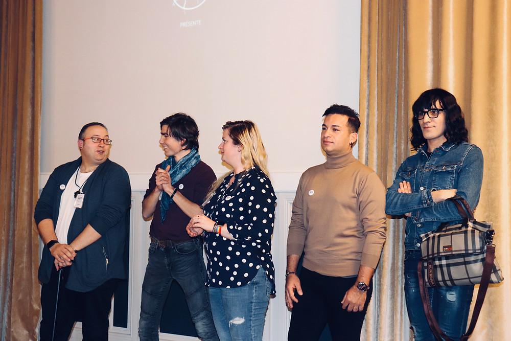 Coming Alive - Les témoins du film : Denis, Jason, Virginie, Zak et Yaniss