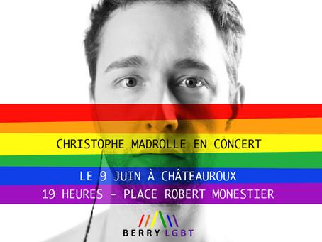 PARRAIN DE LA MARCHE DES DIVERSITÉS LGBT DU BERRY
