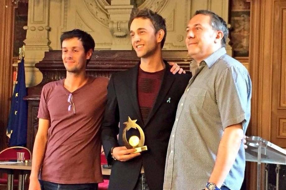 Christophe Madrolle - Remise du Prix Le Refuge