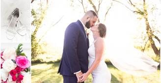 Cole & Jasmine - An Intimate Backyard Wedding