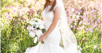 Victorian Style Spring Bridal Session