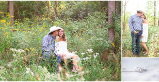 Audrye & Robert - Late Summer Nature Center Engagement Session