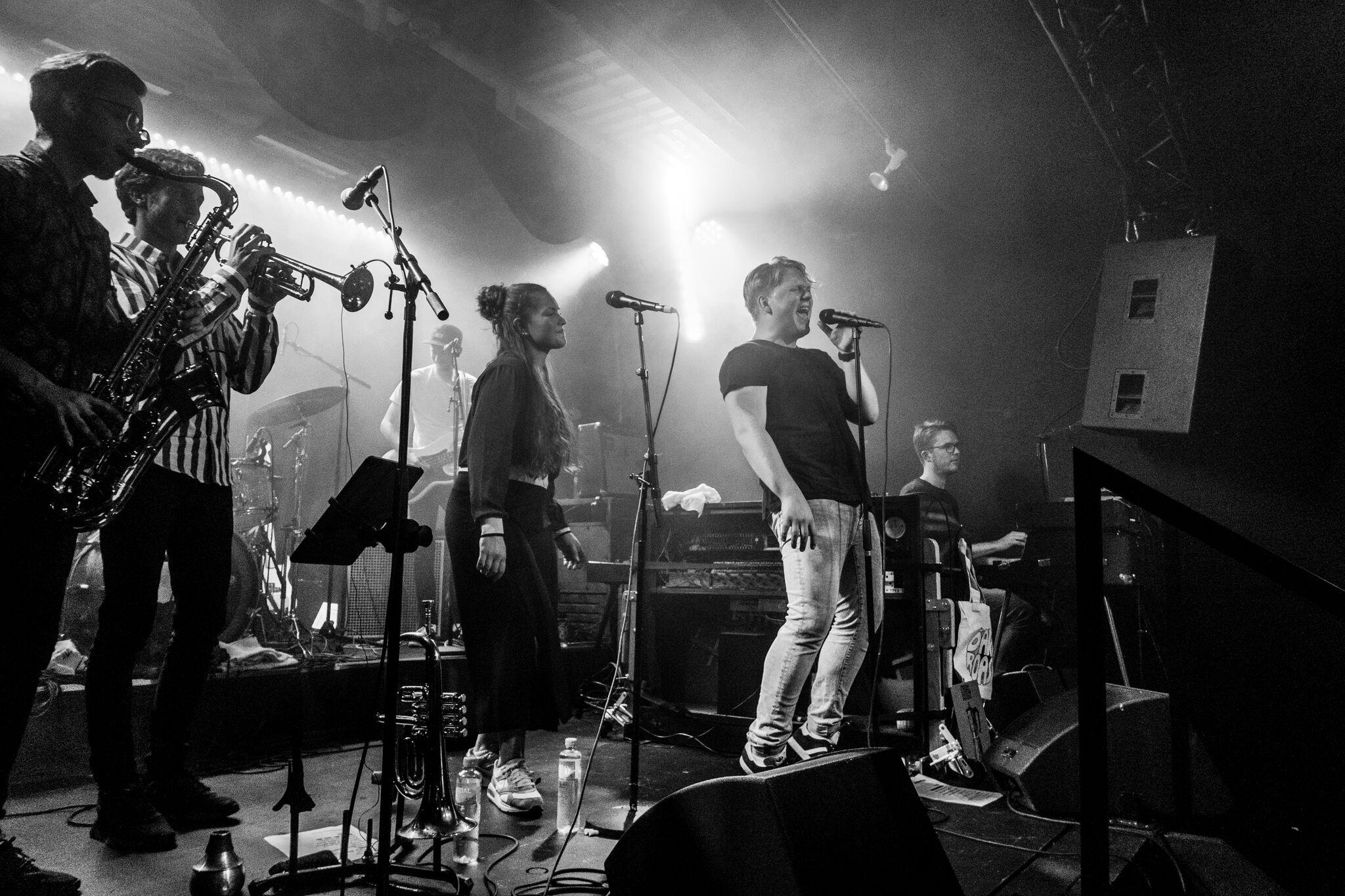 Concert: Dark Roast @Gamla, Oslo