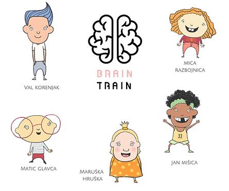 BRAINTRAIN: Kreativna igra za vso družino