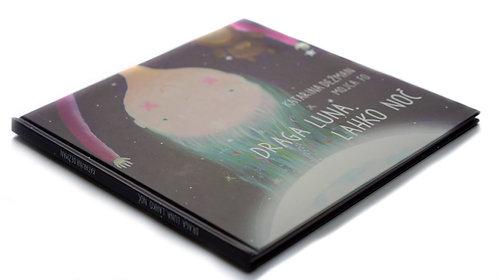 Draga Luna, lahko noč - knjigica
