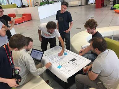 Microsoft Innovation Center - Atelier de cocréation.