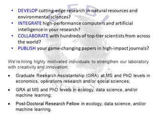 Job openings at FACAI Lab