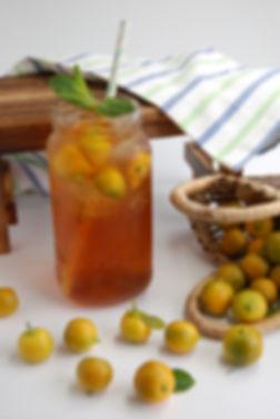 Mango Calamansi Iced Tea