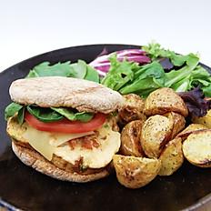 Longanisa Scramble Breakfast Sandwich
