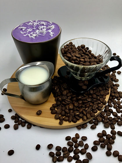 Ube Coconut Coffee