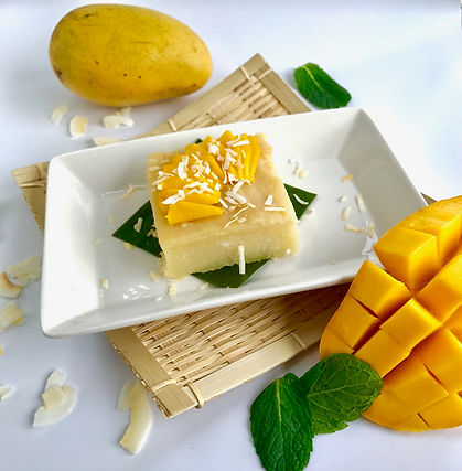 Cassava with Fresh Mango