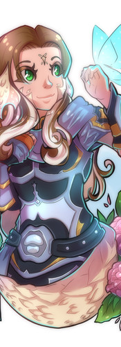 Final Fantasy XIV Character Portrait