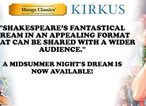 Manga Classics: A Midsummer Night's Dream Receives Kirkus Review