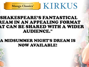 Manga Classics: A Midsummer Night's Dream Receives Kirkus Review