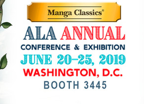 Manga Classics at ALA Annual 2019!