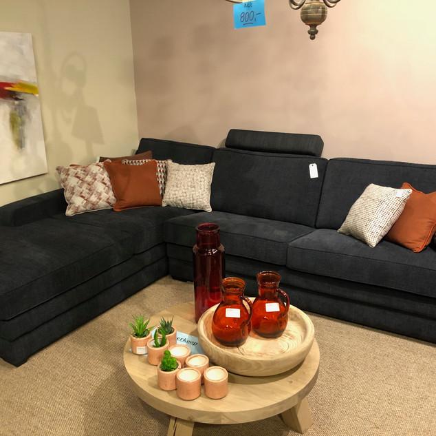 Salon met lounge