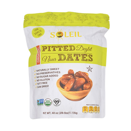 40oz Organic Pitted Deglet Nour Dates