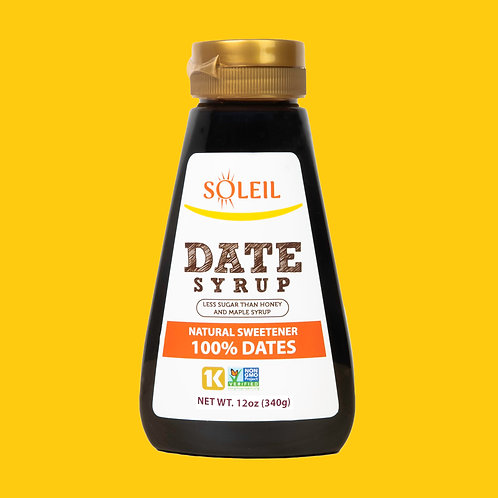 Date Syrup 12oz (Pack of 2)