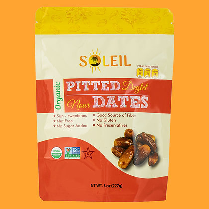 8oz Organic Pitted Deglet Nour Dates (Pack of 4)