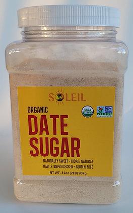 2lb (32oz) Organic Date Surgar
