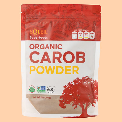 7oz Organic Carob Powder( Pack of 2)