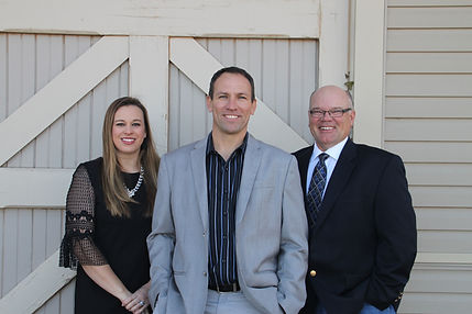 Gary Eastwood, Brittay Payne, Eddie Womack, WE Custom Homes