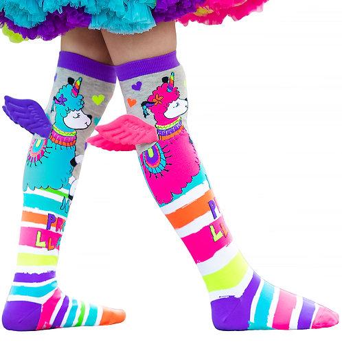 Mad Mia No Probllama Socks